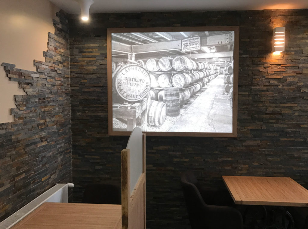 tableau lumineux Le Bistrot Gourmand