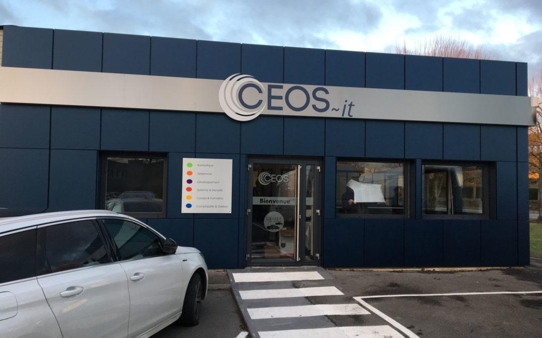 Agencement de bureaux : Ceos-it (Technoparc Futura Béthune)